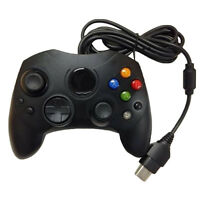 Dual Shock Wired Game Pad Controller for MICROSOFT xBox Vibration S-Type BlackEO