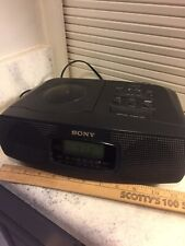 Sony Icf-Cd820 Am/Fm Compact Disc Player with Clock Radio Works Perfectly