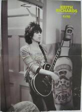 Keith Richards-Giant Smirnoff Vodka Bottle- Dominique Tarle- Poster Art Print