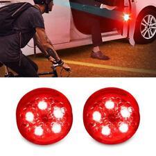 2 x Car Door Opened Warning Lamp Flashing Signal LED Light Anti-collision Strobe