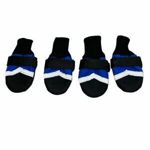 Large Reflective Booties Shoes for Dogs Boots Waterproof, Snow Winter Anti-slip