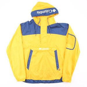 Vintage COLUMBIA Yellow 00s Regular Casual Outdoor Jacket Mens XL
