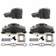 MerCruiser 5.7 350 V8 Exhaust Manifold & Riser Kit 860246A15 860246Q11 18-19532