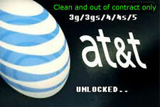 Factory Unlock code service AT&T ATT USA for iPhone 3GS 4 4S 5 5C 5S 6 6+ faster