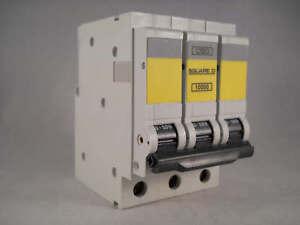 Square D QOE MCB 50 Amp Triple Pole 3 Phase Breaker Type C 50A QO350EC10 10000