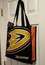 NHL Anaheim Ducks Canvas Tote Bag