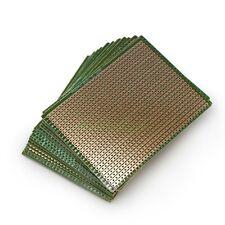 10pcs 70mm X 90mm Stripboard Prototype Copper Strip Pcb Printed Circuit Board