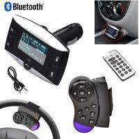 "1.5"" LCD Car Kit MP3 Player Bluetooth FM Transmitter Modulator SD MMC USB Remote"