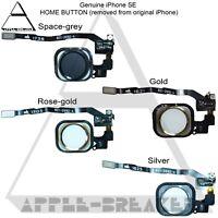 Apple iPhone SE HOME BUTTON WITH FLEX CABLE 100% ORIGINAL GENUINE