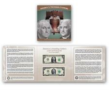 2018 Americas Founding Fathers Set Currency Set $1 $2 Only 5000 made IN HAND Low