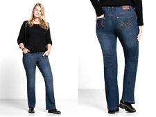 Sheego-Lana~ Blue Stretch  Denim Straight Leg Jeans~ Size 20 ~[R20]