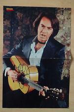 Neil Diamond Autogramm signed 28x42 cm Poster gefaltet