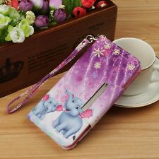 Leather Flip Wallet Phone Case Cover For Samsung Galaxy Note 9 S9 S9+ S8 S8+ S7