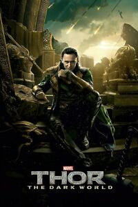 "Thor 2: The Dark World - Movie Poster (Loki / Tom Hiddleston) (24"" X 36"")"