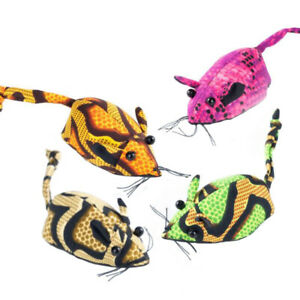 Sand Animal Mouse Toy Party Bag Filler Gift Stress Relief (Pack of 4 pieces, ...