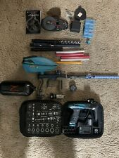 dlx luxe paintball gun lot with extras (2) luxe x