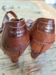 Vintage yves saint laurent Shoes size 5
