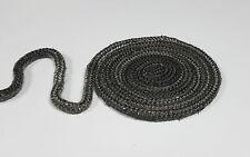 Dichtschnur Ofendichtung Ofenschnur 8 mm Premium Qualität 0,50 m schwarz
