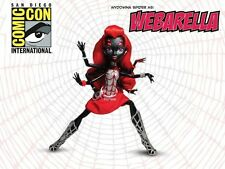 SDCC Monster High Doll WEBARELLA EXCLUSIVE Power Ghouls Spider Girl Comic Con !