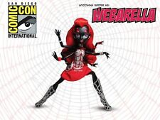 SDCC Monster High WEBARELLA EXCLUSIVE Doll Power Ghouls Super Hero Comic Con NEW