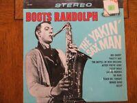 Boots Randolph - The Yakin' Sax Man - 1964 RCA Camden CAS 825 Vinyl LP EX/EX!!!