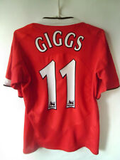 EXCELLENT!!! GIGGS !!! 2004-06 Manchester United Home Shirt Jersey Trikot S