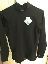 Women's Mountain Equipment UV protection top size large black long sleeve