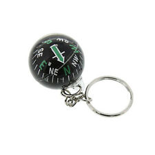 High Quality Survival Keychain Liquid Compass Hiking Ball Camping