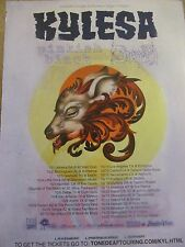 Kylesa, Tour, Full Page Promotional Ad