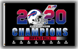 Buffalo Bills AFC East Division Champions 2020 Flag 90x150cm 3x5ft Best Banner A