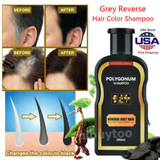 Hair Darkening Shampoo Bar Gray Hair Reverse Natural Polygonum Essence Care USA