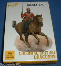 HAT 8288 - COLONIAL BRITISH DRAGOONS - 1/72 SCALE