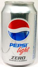 EMPTY UNOPEN Can Genuine Russian Diet Pepsi Light 0.33 litre (12oz) Russia 2012