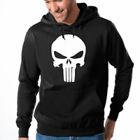 The Punisher Totenkopf Skull Comic Kult Hero Kapuzenpullover Hoodie Sweatshirt