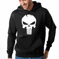 The Punisher Totenkopf Skull Comic Kult Hero Kapuzenpullover Hoodie Sweatshirt