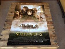 Used EL SEÑOR DE LOS ANILLOS ( La Comunidad del anillo ) Film Poster Cartel Cine