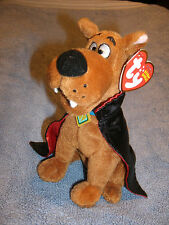 "Ty SCOOBY DOO (VAMPIRE) 6"" M /M  tag * RARE * WALGREENS Halloween Exclusive 2010"