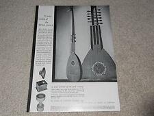Very Rare 1955 JBL Speaker Ad, D001 Horn, Woofer, D050, 1 pg, Article, ORIGINAL