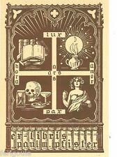 EX-LIBRIS de Paul PFISTER par A. Freppel.