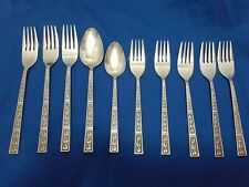Lot Of 10 Pieces Of Vintage Riviera Tableware Flatware New Cortina Stainless