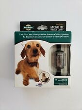 NEW PetSafe MICRO I.D. Rescue Collar Small - Lost Dog Cat Identification System