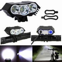 Road Bike Front Light Bicycle LED Lamp Headlight 12000LM Bright for Night Riding
