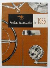 Vintage 1955 PONTIAC ACCESSORIES brochure