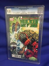 Hulked Out Heroes #1 Marvel Comic Book 2010 CGC Graded 9.8