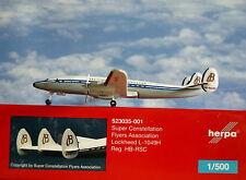 Herpa Wings 1:500 Lockheed L-1049H  SCFA Breitling  523035-001 Modellairport500