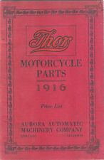 1916 THOR MOTORCYCLE PARTS BOOK IN .PDF FORMAT ON CD ANTIQUE REPRODUCTION