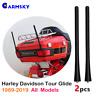 2x 7'' Antenna Mast For 1989-2017 Harley Davidson Electra Glide Tour USA SHIP