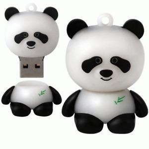 New 32GB USB Panda Shape Flash USB Memory Stick Pen Drive 32G #777