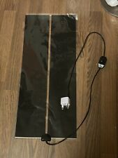 Heat Mat-45w-Reptile w/ Switch-Pet-Snake-Heater-Heating-EU Plug w/ Adapter-Black