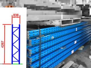 Dexion Pallet Racking Beams Frames Pre Owned